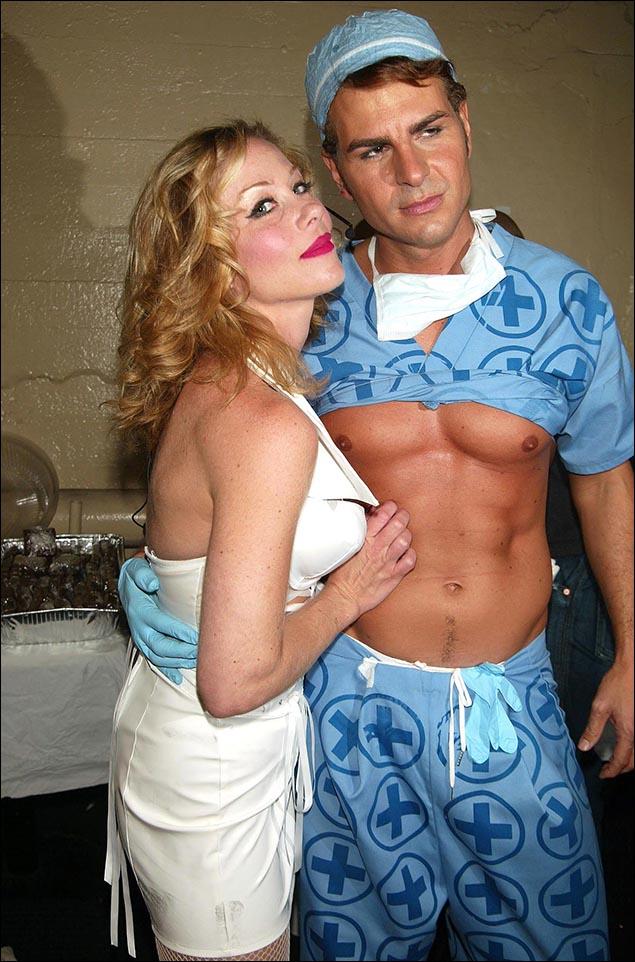 Christina Applegate and Vincent DePaul, 2005