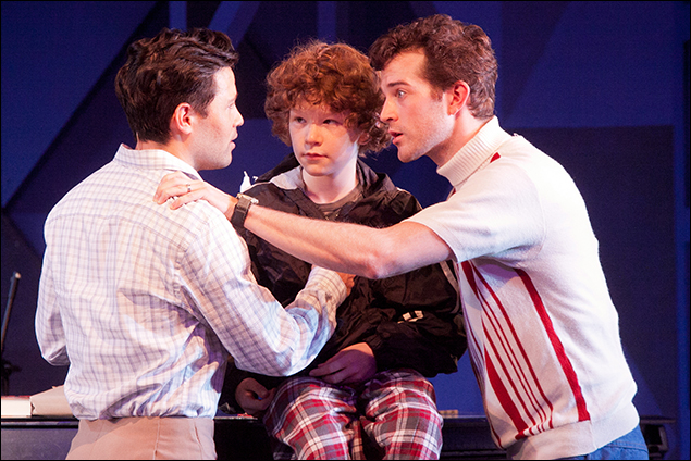 Jason Tam, Evan Fine and A.J. Shively