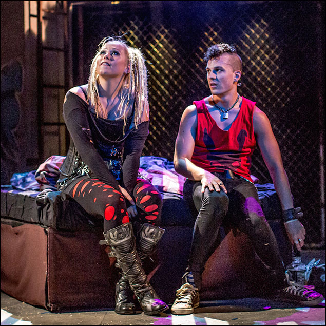 Amelia Lily and Aaron Sidwell
