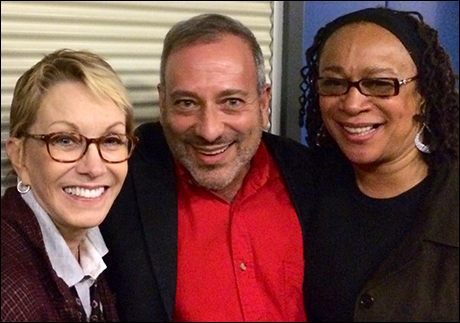 Sandy Duncan, LeShay and S. Epatha Merkerson at While I Yet Live in 2014