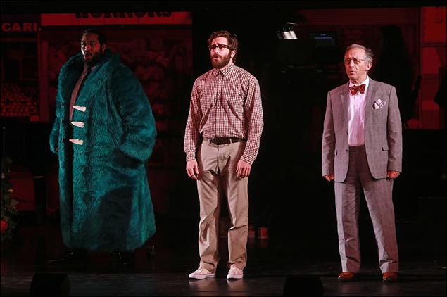 Eddie Cooper, Jake Gyllenhaal and Joe Grifasi
