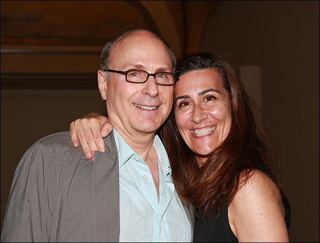 James Lapine and Jeanine Tesori