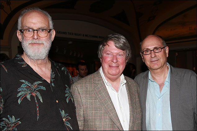 William Finn, Andre Bishop and James Lapine