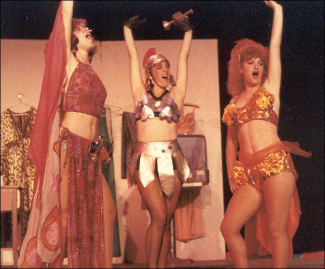 Julia Murney in Gypsy, 1984, at Stagedoor Manor