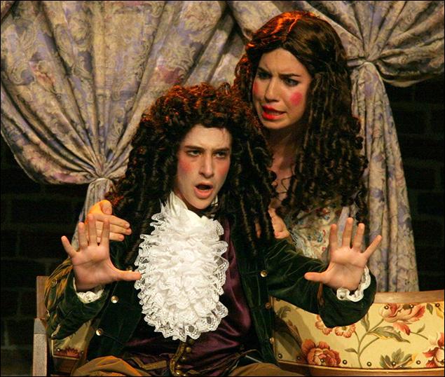 Noah Robbins in Tartuffe 2007 at Stagedoor Manor