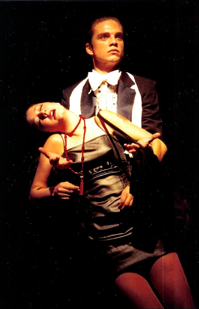 Sebastian Stan in Sweet Charity 2000 at Stagedoor Manor'