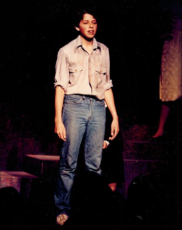 Jon Cryer in Working 1981 at Stagedoor Manor