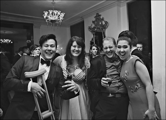 Kelvin Moon Loh, Lauren Elder, Michael Gioia and Ruthie Ann Miles
