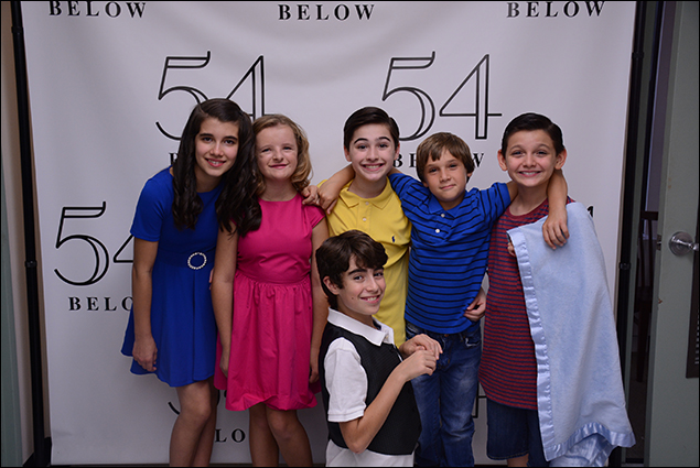 Mavis Simpson-Ernst, Milly Shapiro, Joshua Colley, Aidan Gemme, Zachary Unger and Luca Padovan