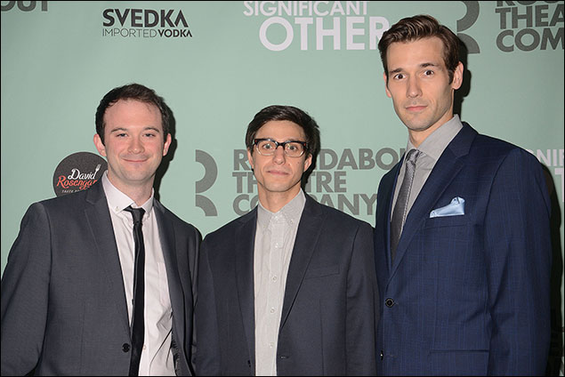 Luke Smith, Gideon Glick and John Behlmann
