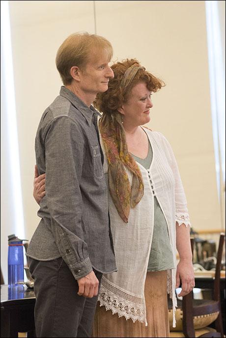 Nick Corley and Liz McCartney