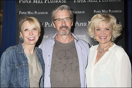 Julie Halston, Charles Shaughnessy and Christine Ebersole