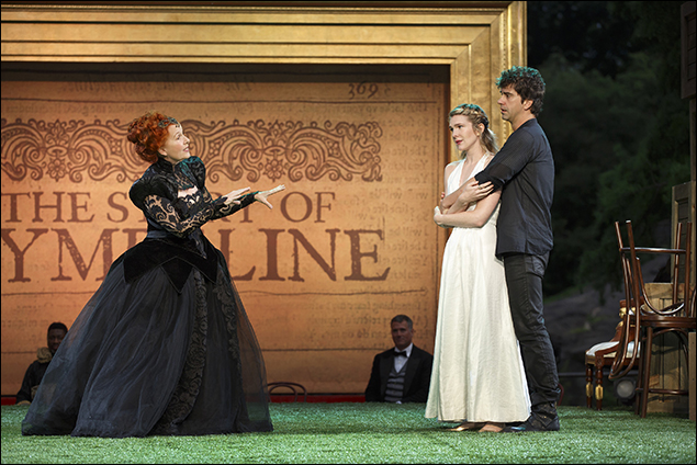 Kate Burton, Lily Rabe, and Hamish Linklater