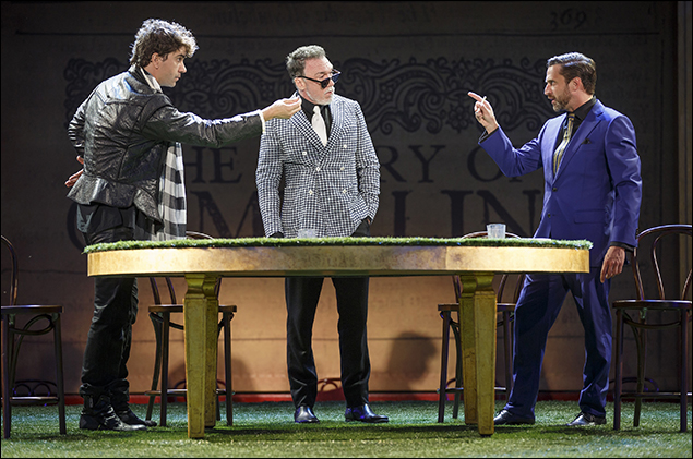 Hamish Linklater, Patrick Page and Raúl Esparza
