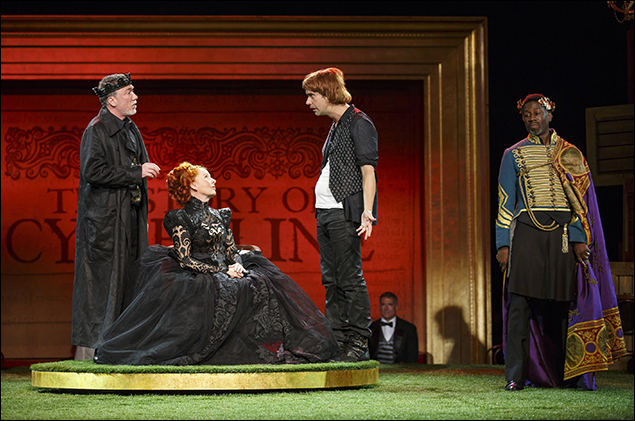 Patrick Page, Kate Burton, Hamish Linklater, and Teagle F. Bougere