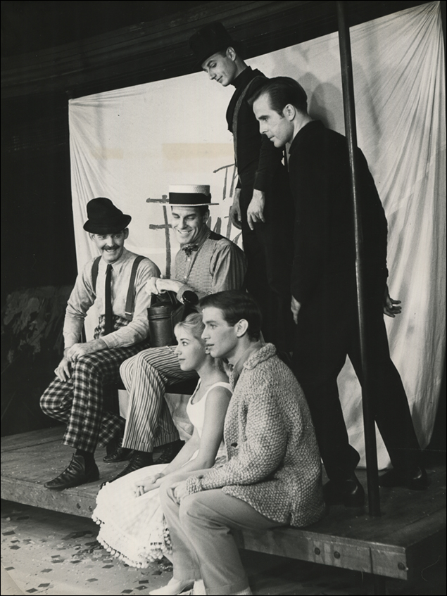 Alice Cannon, Ty McConnell, Charlie Blackburn, John High, James Cook and John Cunningham in 1963