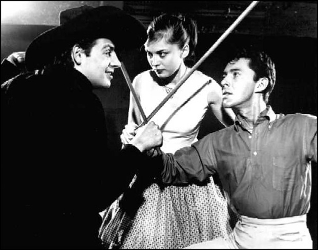 Jerry Orbach, Rita Gardner and Kenneth Nelson