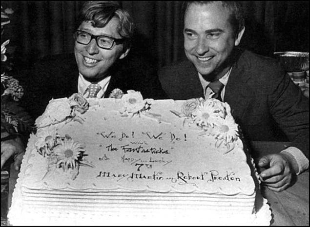 Tom Jones and Harvey Schmidt in 1967