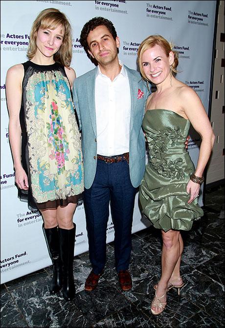 Jill Paice, Brandon Uranowitz and Jennie Ford