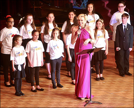 Cady Huffman and The Broadway Youth Ensemble