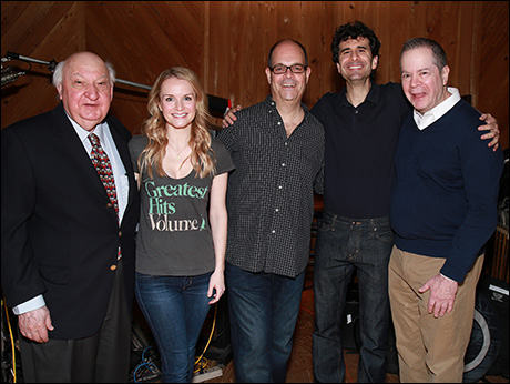 Gerry Vichi, Kate Reinders, Brad Oscar, John Cariani and Peter Bartlett