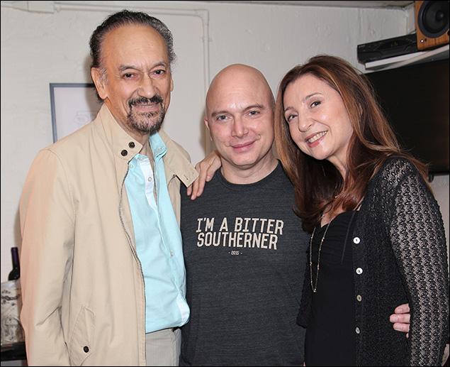 Shawn Elliott, Michael Cerveris and Donna Murphy