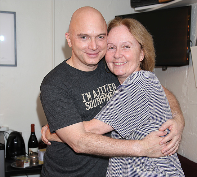 Michael Cerveris and Kate Burton