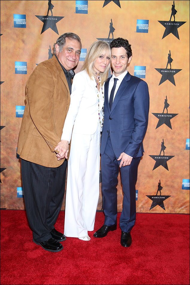 Dan Lauria, Judith Light and Thomas Kail