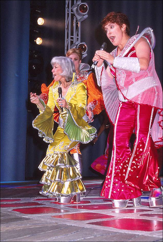 Louise Pitre and Judy Kaye