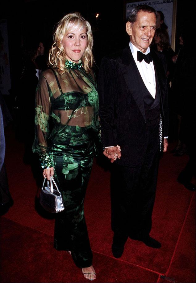 Heather Harlan Randall and Tony Randall