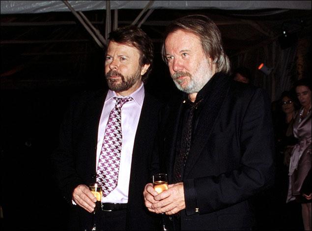 Bjorn Ulvaeus and Benny Andersson