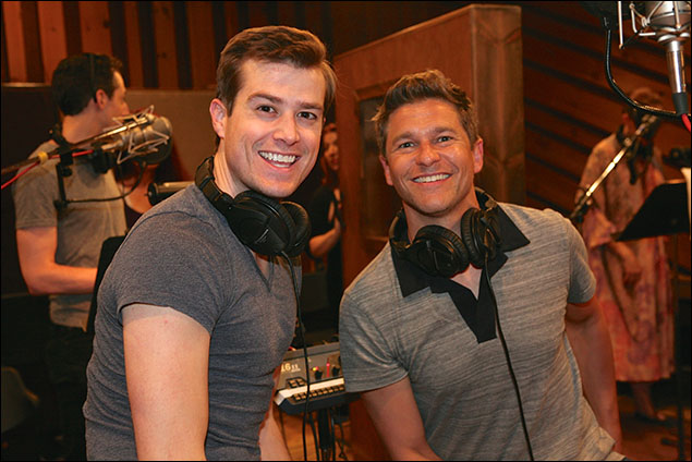 Nick Spangler and David Burtka