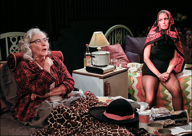 Betty Buckley and Rachel York