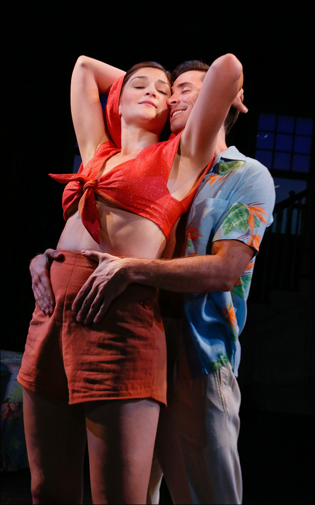 Sarah Hunt and Matt Doyle