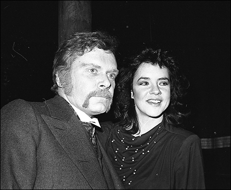 Kevin Conway and Stockard Channing at opening night of The Elephant Man