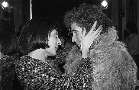 Jane Lapotaire and Jim Dale at Piaf