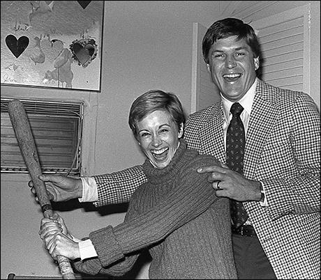 Sandy Duncan and Tom Seaver at Peter Pan, 1980