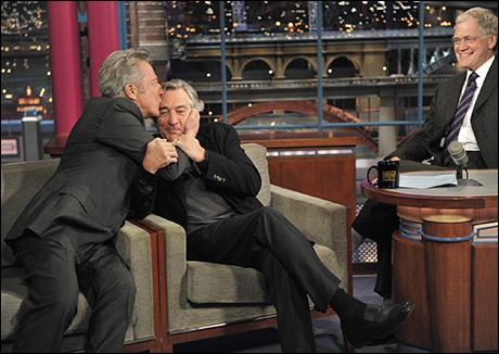 Robert De Niro and Dustin Hoffman visit the show on Dec. 17, 2010