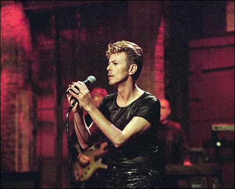 David Bowie, September 25, 1995