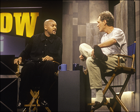 Will Smith talks with Dave, November 22, 1996