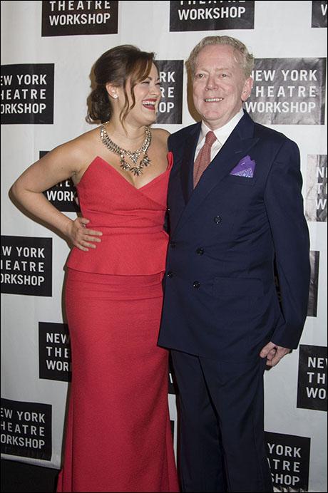 Ashley Brown and Bob Crowley