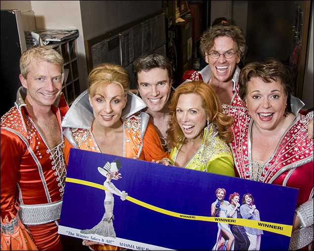 Ben Livingston, Judy McLane, Christopher Shyer, Carolee Carmello, Pearce Bunting and Gina Ferrell.