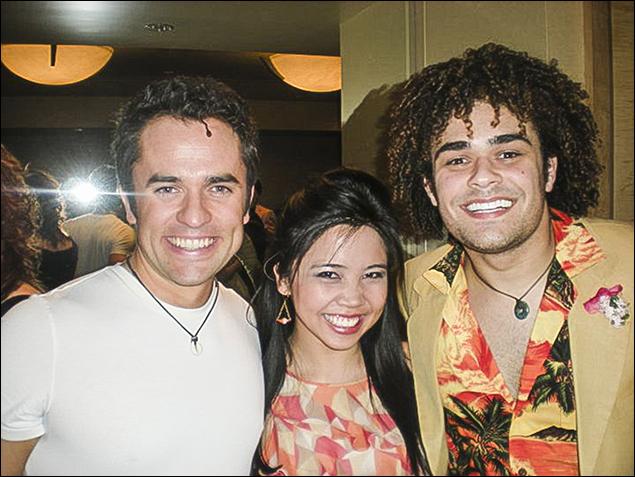 Corey Greenan, Catherine Ricafort, Andrew Chappelle