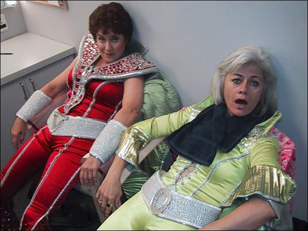 Judy Kaye and Louise Pitre
