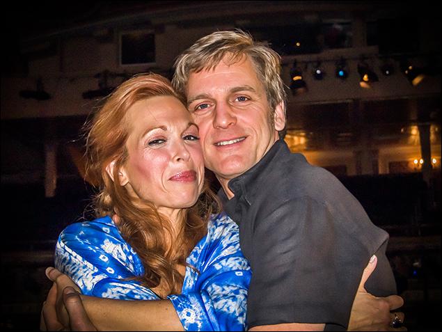 Carolee Carmello and Daniel McDonald