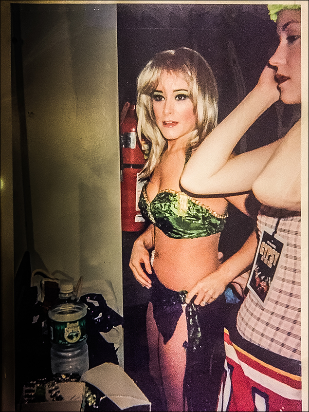 Tina Maddigan as Britney Spears BC/EFA GYPSY OF THE YEAR