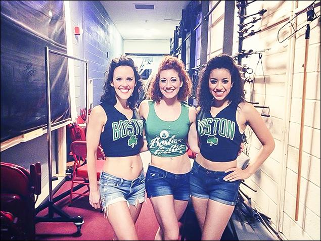 Leah Zepel, Allyson Carr and Sydni Beaudoin