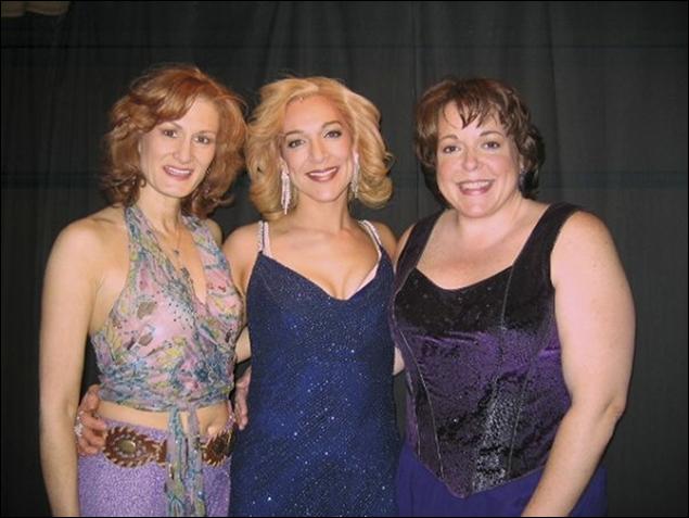 Corinne Melancon, Jen Burleigh-Bentz, Gina Ferrall
