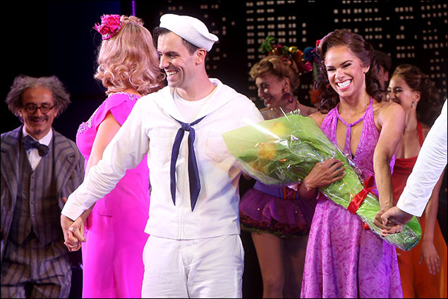 Clyde Alves and Misty Copeland