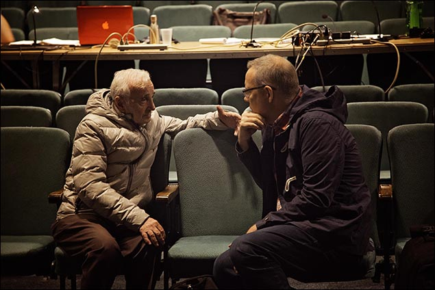 Charles Aznavour and David Chase
